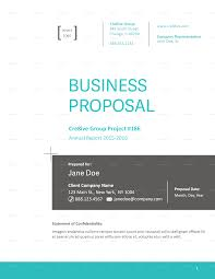 Business Proposals Templates Business Proposal Template