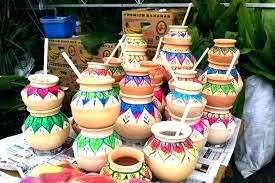 hand painted clay pot ideas for decoration pots decorations easy craft