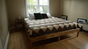 mid century modern king bed. Home Interior: Reward Mid Century Bed Frame Modern Walnut Midcentury From King