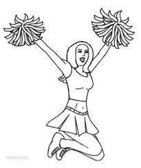 Small Picture Free Coloring Pages Cheerleading Coloring pages My coloring