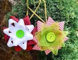 Ribbon Ornaments Two Color Ribbon Ornament