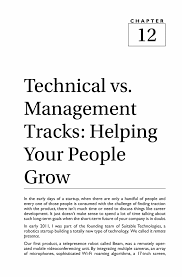 technical vs management tracks helping your people grow springer inside