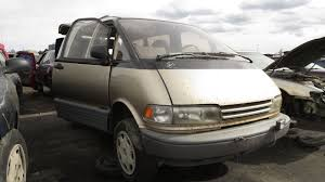 Junkyard Find: 1992 Toyota Previa All-Trac