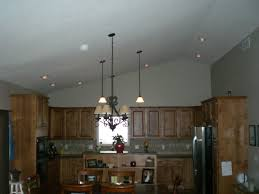 Kitchen With Vaulted Ceilings Close To Ceiling Light Vaulted Ceiling Lighting Home Decor Waplag