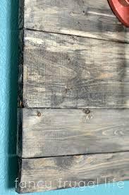 diy faux barn wood wall art