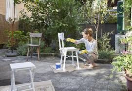 thinking of painting garden furniture