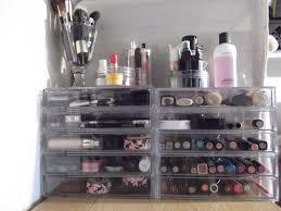 muji acrylic drawers makeup storage organization feat cori scherer design