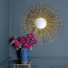 gold sunburst mirror. Gold Sunburst Mirror · L