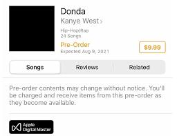 "Donda"": Kanye West mit Feature-Liste ..."