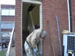 removing a door and frame wmv you
