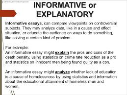 explanatory informative writing ppt informative or explanatory