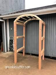 garden arch tutorial how to build