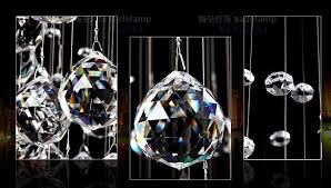 102pcs lot 30mm mixed color crystal faceted glass chandelier prism hanging transpa color
