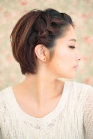 Korean Woman Short Hair Style short hairstyles very best braids hairstyles for short hair braid 1753 by wearticles.com