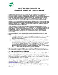 easy serial to ethernet connectivity international using the dnp3 0 protocol via device servers and terminal servers read