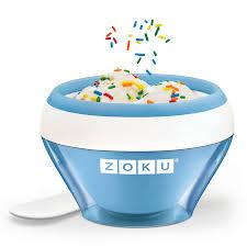 <b>Мороженица Ice Cream Maker</b> синяя от Zoku (арт. ZK120-BL ...