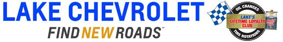 chevrolet find new roads logo. lake chevrolet find new roads logo