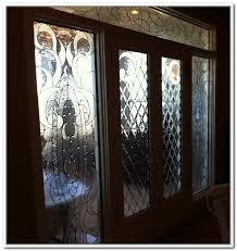 antique wooden patio door beveled glass