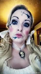 broken doll makeup something wicked this way es wicked weekend