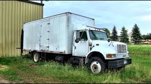 Tiny Truck Work Truck Converted Into Stealth Tiny House Youtube