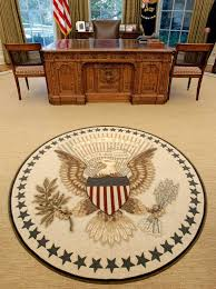 oval office rug. Following Tradition, Obama Redecorates Oval Office | McClatchy Washington Bureau Rug I