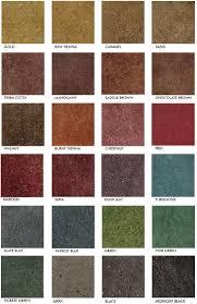 Concrete Floor Color Chart Pin On Concrete Stain