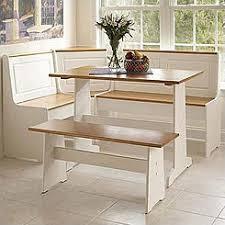 corner breakfast nook furniture.  Nook Pemberly Row Breakfast Corner Nook Table Set In White For Furniture S