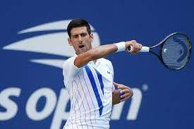 Novak Djokovic hits US Open practice ...