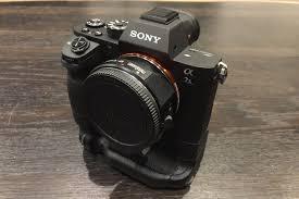 sony a7s ii. sony a7s ii body w/ battery grip (supports canon ef) a7s ii