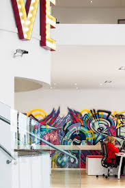 office graffiti wall. an eclectic dublin office space with plenty of verve graffiti wall s