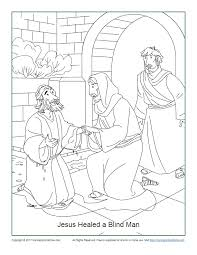 The next three coloring pages are of jesus in the garden of olives. Jesus Healed A Blind Man Coloring Page John 9 1 7