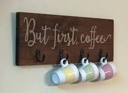coffee mug wall hanger kitchen e ideas wooden wall mount coffee cups holder handmade cup holder coffee mug wall hanger