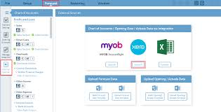 Integrations Importing From Xero Castaway Forecasting