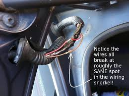 e39 electrical problems traced to trunk lid harness wire chafing ps notice yet again the blue bmw trunk wiring of death strikes again against our blue painted bmws
