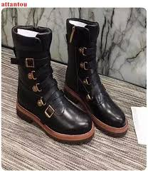 black leather women s short boots cross tied female booties low heel newest fashion girl s party dress shoes lady outfit