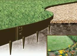 flexible steel garden edging galvanised