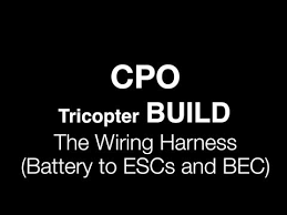 cpo tricopter build wiring harness battery to escs and bec Building Wiring Harness cpo tricopter build wiring harness battery to escs and bec building wiring harness