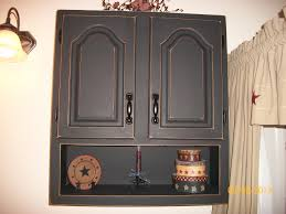 Metal Bathroom Wall Cabinet Finished Bathroom Wall Cabinet With Black Chalkboard Paint Then