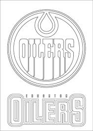 Small Picture Edmonton Oilers Logo coloring page Free Printable Coloring Pages