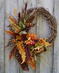 Fall Wreath Fall Wreaths Autumn Woodland Wreath Designer Decor Thanksgiving