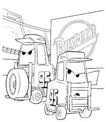 I Carrelli Elevatori Di Disney Cars Da Colorare Disegni Da