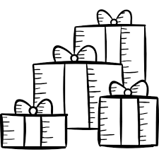 birthday present clip art black and white. Fine Art Png Library Christmas Presents Clipart Black And White Gift Box Birthday  Gifts On Birthday Present Clip Art Black And White R