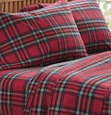 plaid flannel sheets duvet cover and sham red tartan flannel sheet set orvis