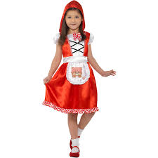 little red riding hood kids costume size 5 7
