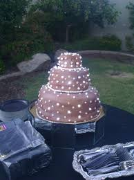 wedding cakes with lights. Fine Wedding Lighted Wedding Cake On Central For Cakes With Lights E