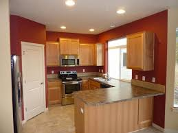 Decorating Kitchen Wall Colors With Light Wood Cabinets Color