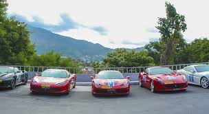 Go karting & rally, weather permitting. Ferrari Club Hits The Streets Of Phuket