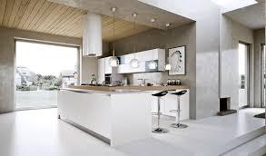 Kitchen Modern Kitchen Designs Wooden Roof Chandelier White Marble ...