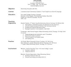 Resume Objective For Teacher Resume Objective Teaching Shalomhouseus 13