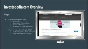 Practice Stock Charts Stocks 101 Learn And Practice Trading With Investopedia